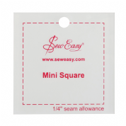 "Sew Easy Mini Square Ruler 2.5"" x 2.5"""